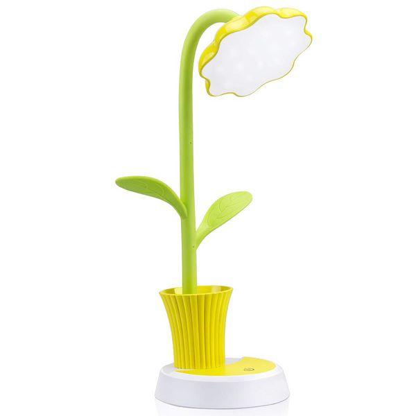 Hot Sale Kids Lamp, Led Desk Lamp Press Control Dimming Light Flexible Usb Rechargeable Desk Light Eye-Care Children Studying