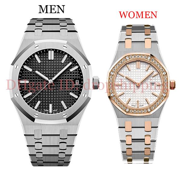 orologi da uomo di lusso 42 / 33mm cinturino in acciaio inossidabile pieno orologio d'oro luminoso orologio da polso di alta qualità zaffiro design orologi 5ATM impermeabile