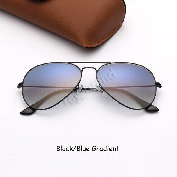 Schwarz-Blau Gradient