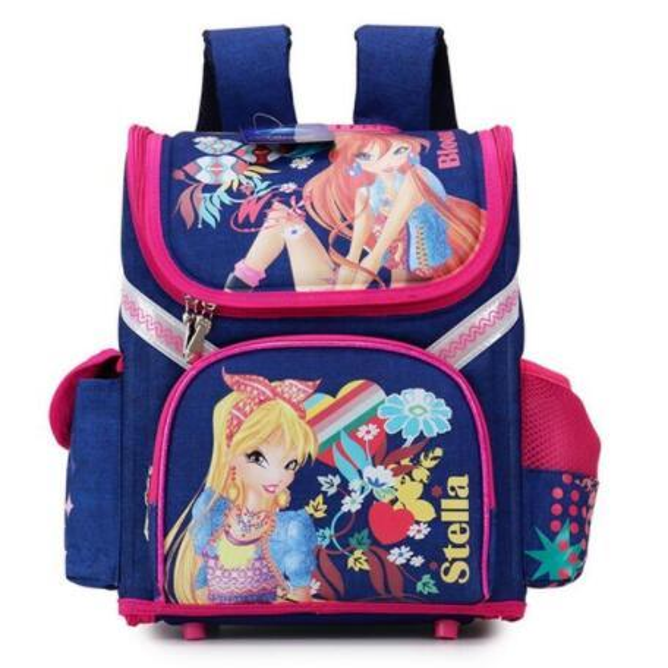 Brand Schoolbag Grade 1-3-5 Princess Girl Backpack School New Children Cartoon Cat Kids Backpack Orthopedic School Bag For Girls