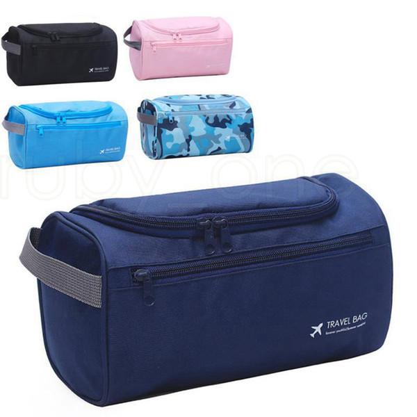 Men Multi-function Travel Wash Bag Portable Women Cosmetic Bag Makeup Organizers Waterproof Suspension Bags Large Capitity LJJR931