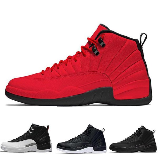 Gym Red 12 Mens Basketball Shoes 12s Bulls Michigan Winterized WNTR TAXI The Master Wings Trainers Sports Sneakers Size 7-13