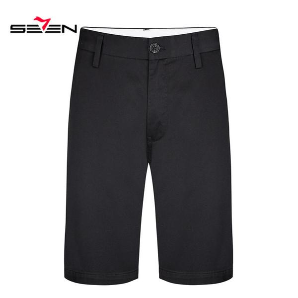 Sete Masculino de alta-grade 2019 Novos Shorts Men Hot Sale Casual Praia Shorts Homme Qualidade Bottoms Moda Marca 114S80011