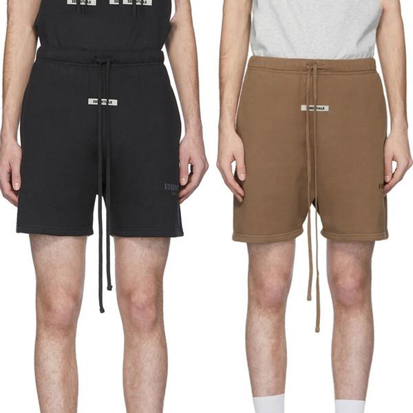 best selling FOG Essentials Shorts FEAR OF GOD 3M Reflective Sweat Shorts Mens Casual Sweatshorts Joggers Harem Shorts Hip Hop Skateboard Streetwear