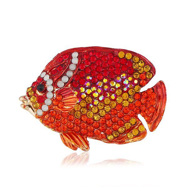 Animal fashion wild fish pin collar collar brooch temperament fashion brooch small gifts wholesale