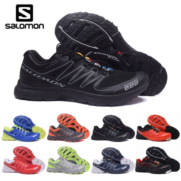 2019 New Mens Salomon S-LAB SENSE Ultra Run Soft Ground Wings Fashion Running Shoes High Quality Outdoor Jogging Sports Athletic Shoe