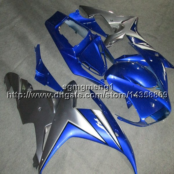 23colors+Botls blue YZF R1 02 03 motorcycle cowl For Yamaha YZF1000 YZFR1 2002 2003 ABS Plastic motor Fairing