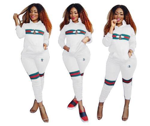 8901Женская молния из 3-х комплектов Мода печати сплошной цвет случайный спортивный костюм (свитер с длинным рукавом + жилет + брюки)