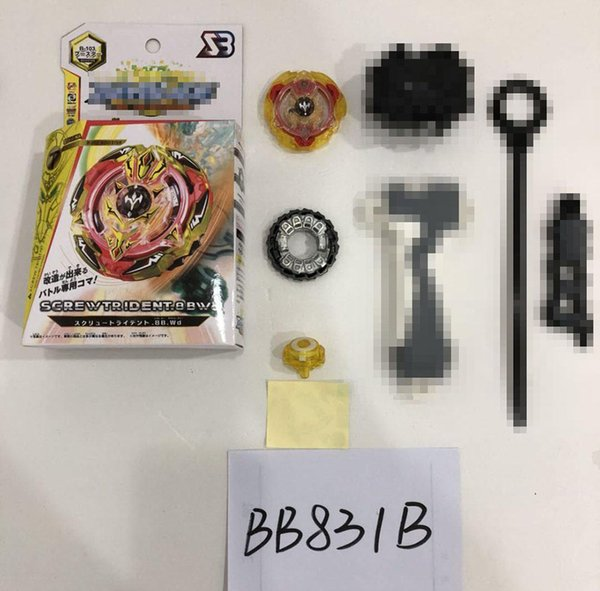 Beyblade Burst BB831 Series B102 B103 Metal Funsion 4D beyblades with Launcher and original Box Spinning Top fighting gyro