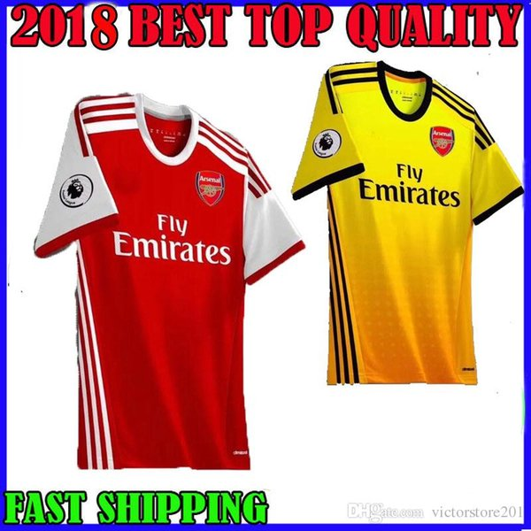 the best attitude 0c943 32b6c 2018 New 19 20 Arsenal Soccer Jerseys Mkhitaryan AUBAMEYANG Home AWAY 2019  2020 Torreira OZIL Lacazette RAMSEY Football Shirts Top Quality From ...