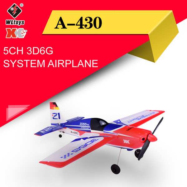top popular Wltoys XK A430 X4 Transmitter RC Plane 2.4G 5CH Brushless 3D6G System Airplane Compatible With FUTABA S-FHSS Aircraft RC Glider Y200413 2021