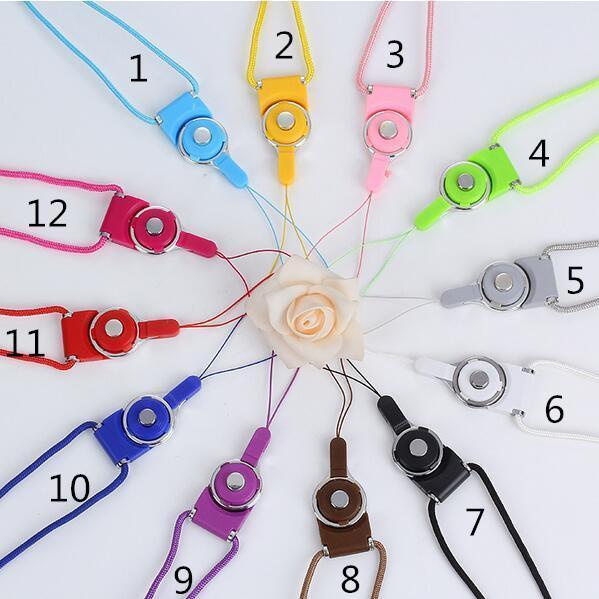 Universal Lanyards Neck Lanyard Lange Riemen Nylon Hänge Seil für MP3 Mp4 ID Halter Handy Handy Lanyard Hänge Seil