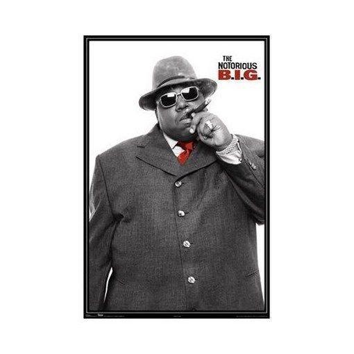 Пресловутый большой реп Б. И. Г. Искусство шелк плакат 24x36inch 24x43inch 0587