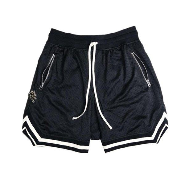 top popular Famous Stylist Mens Shorts Street Fashion Jogger Mesh Short Pants 2021 Summer Hip Hop Breathable Mens Sweatpants 2021