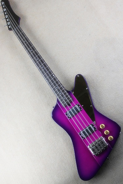 8 Bass Electric Guitar Strings with Jacaranda arm, Black Pickguard, Neck-thru-body, offering customized services
