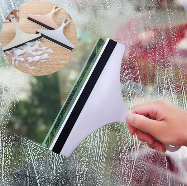 Mirror Window Wiper Auto Wiper Cleaner Car Washer Windshield Wash Tools Glass Window Cleaning Brush Scraper Rubber