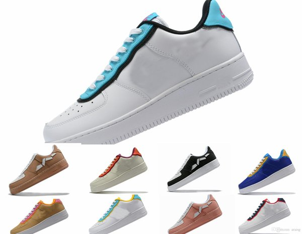 Mens Forced 2.0 Laufschuhe Sneakers Neuheiten Designer Off MCA University Blau Sport Casual Skateboard Forces Frauen Niedrige Schuhe