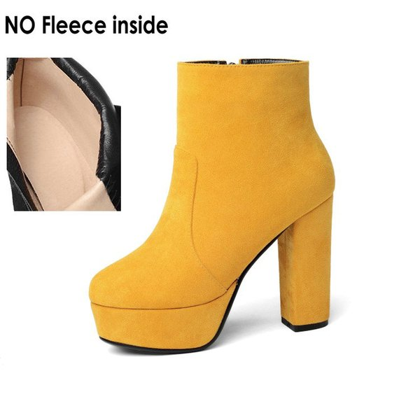 yellow-no fleece