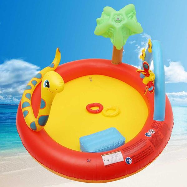 ПВХ Надувной Бассейн Дети Дети Открытый Сейф Воды Играть Младенца Надувные Симпатичные Животные Ванна Бассейн Малыш Игры Игрушки