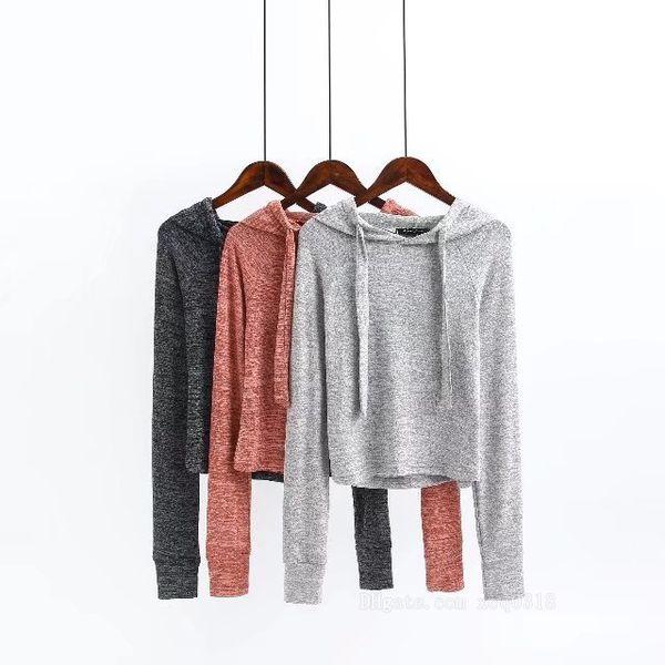 Hot Women's new casual long sleeve hooded crop top short sweatshirt and elastic waist loose wide leg long pants sports suit tracksuit