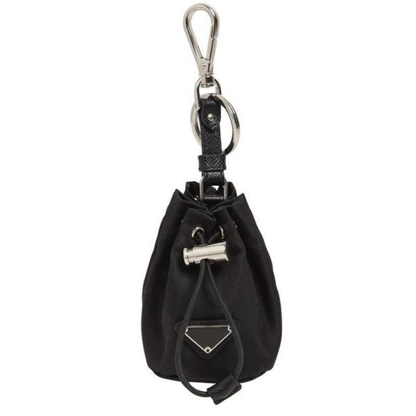 New fashion designer female mini portable wrist chain bag diagonal P drawstring bucket bag Oxford nylon male key bag handbags H28bc#