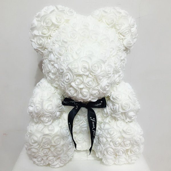 valentines gift 40cm teddy rose bear for friends valentine gift beautiful love pink teddy bear flower