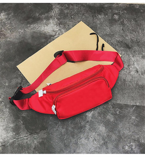 new letter Waist Bag Fanny Pack sports running messenger crossbody bag high quality shoulder pack