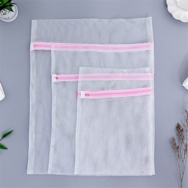 Home Using Clothes Wash Bag Convenient Bra Underwear Laundry Bags Protect Coarse Mesh Washing Machine Aid Lingerie Net
