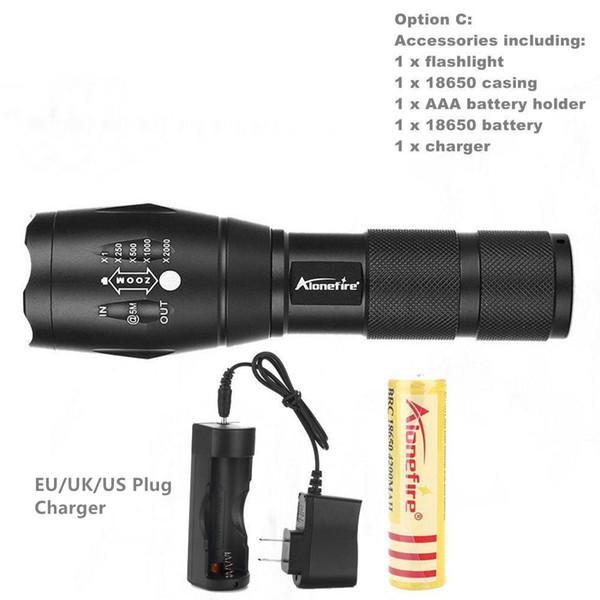 flashlight B-XM-L2 LED