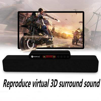 Hot new high-end wireless Bluetooth speaker / strip card audio 5W dual speakers subwoofer computer speakers factory direct sales