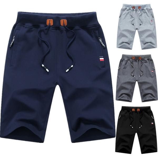 Casual Shorts Men Solid Men's Shorts 5xl Summer Mens Beach Short Man Cotton Casual Male Short Pants Homme Brand Clothing 9993 S625