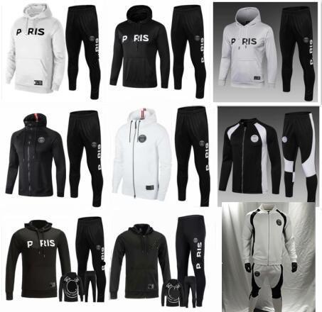 2018/19 veste à capuche PSG Champions League Survetement 18/19 veste de football PSG MBAPPE air jordam soccer TRACKSUIT