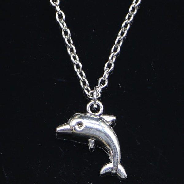Hals Kette Delfin neu