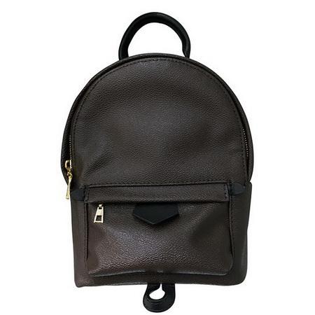 top popular Hot Sale Leather Backpack Bag Women Mini Backpacks Designer Fashion Casual Women Back pack Schoolbag Bags 2019