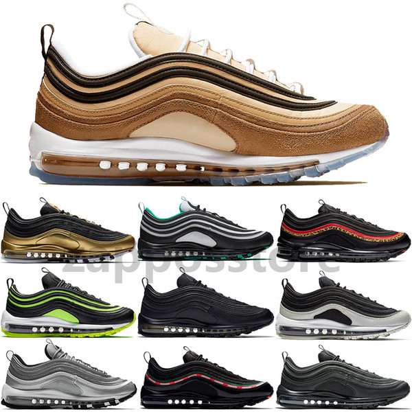 Compre 2019 Nueva Llegada Reflect Silver OG Zapatos Para Correr Neon Reflect Silver Ale Brown Leopard Pack Red Steelers Para Mujer Para Hombre
