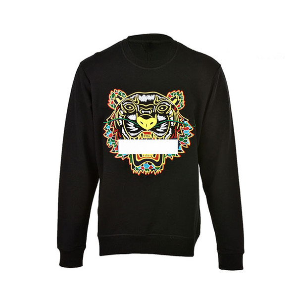 top popular tiger Head Hoodies Mens Classic Letter Long Sleeve Sweatshirt Designer Hoodie fashion Top Shirts Autumn Spring luxury clothing Sweater S-XXL 2019