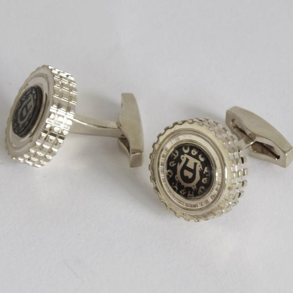 aigner Cufflinks copper wave round Sleeve Nail Men Cuff link French's Cuff Color Luxury Cufflink for gift