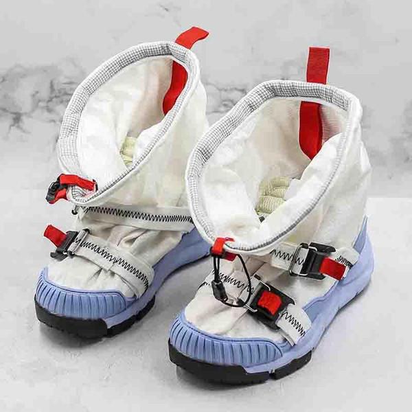 2019 Tom Sachs Mars Yard Overshoe NASA 3.0 womens running sneakers shoe men athletic shoes AH7767-101 Size Eur 36-46 with box