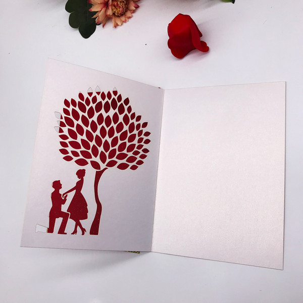 Hollow Laser Cut Envelope Wedding Invitation Card Bride And Groom Engagements Marriage Birthday Party Fancy Dress Royal Party Grand Supplies