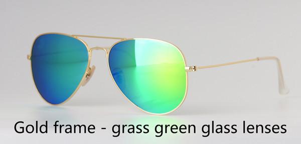 золотой зеленый
