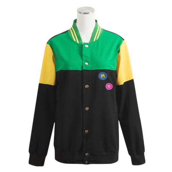 Beleş! Iwatobi Swin Kulübü Cosplay Kostümler Tachibana Makoto Kapşonlu Ceket Okul Anime Hazuki Nagisa Üniforma Genç Coat