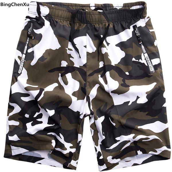 camouflage Men's beach Short board Hot sell trunk camo Beach Board Shorts Quick-drying shorts swimwear for Male bermudas 4921