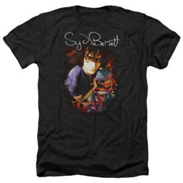 Syd Barrett MAFunnyAP SYD Album Cover Licensed Adult Heather T-Shirt All Sizes