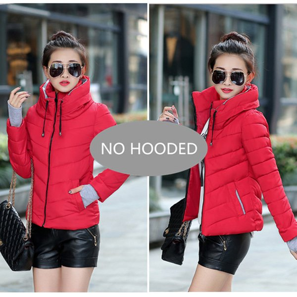 Red - - Hooded