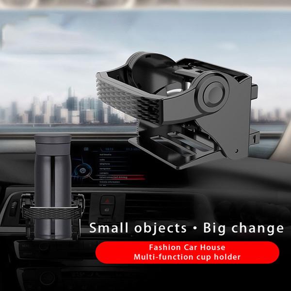 Supporto di montaggio per sfiato aria per portabottiglie per bevande in plastica per autoveicoli per auto in plastica per camion