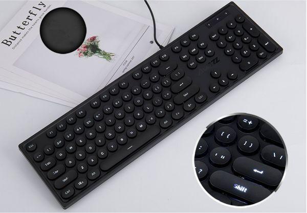 klavye (siyah + kablolu)