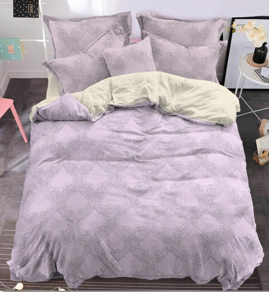 Luxury Bedding Sets Jacquard Duvet Cover Set 3/4pcs Bedclothes Bed Linen bed sheet