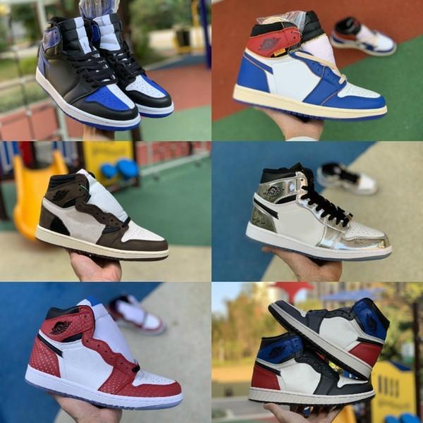 Nike Jordan 1 1 1 blancoo Rojo Metálico Air Do el derecho