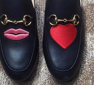 Noir / Lèvres, amour