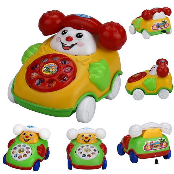 Eğitici Oyuncaklar Karikatür Gülümseme Telefon Araba Gelişim Çocuklar Oyuncak komik çocuklar için mevcut oyunlar serin toysDropshipping # M20